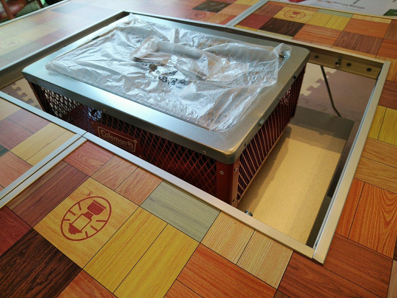 4人家族バーベキューは小さめグリルがおすすめ!コールマンのテーブル&グリルをレビュー