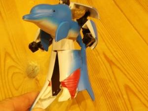 イルカ変身ロボット